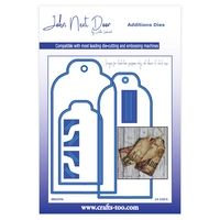 John Next Door Additions Dies - Luggage Tags (10pcs)
