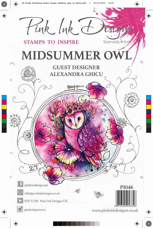 Pink Ink Designs - Midsummer Owl A5