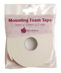 Woodware Mounting Foam Tape - 3mm